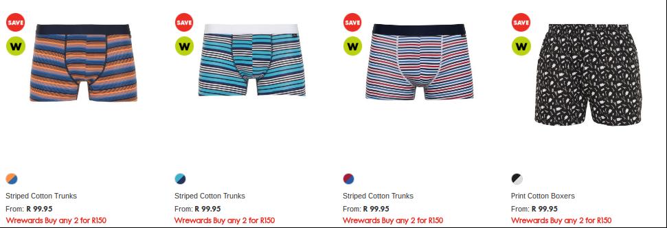 Woolworths underwear