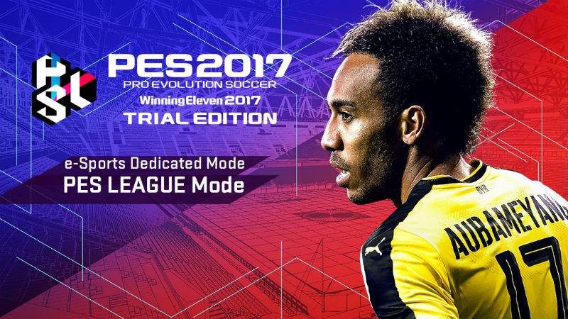 PES 2017 trial