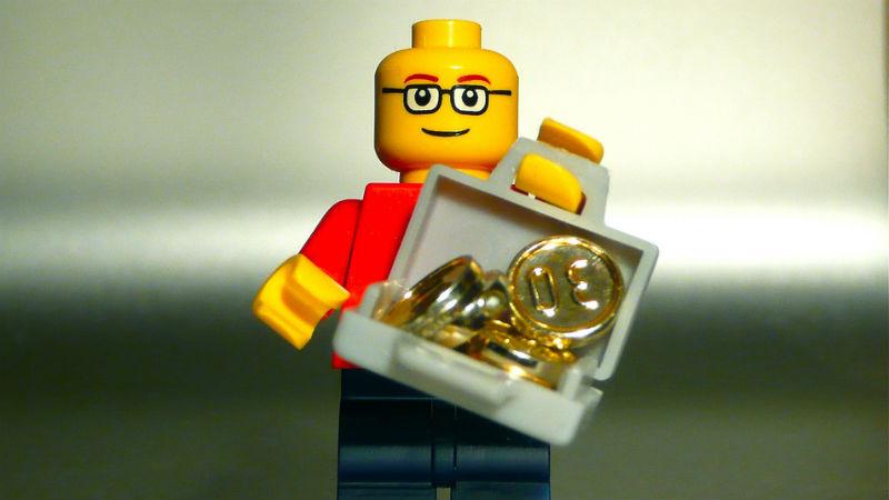 LEGO gold