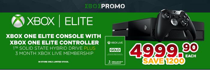 Xbox One elite BT Games
