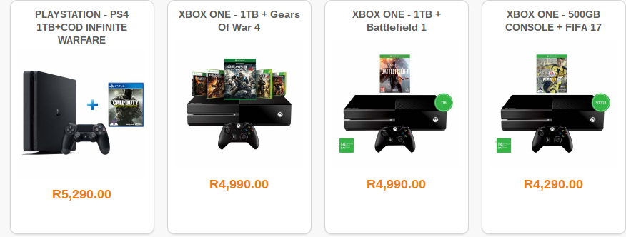 Biggest Xbox One, PS4, & PC Gaming Specials in SA this