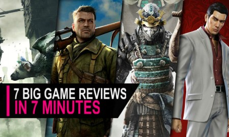 Game reviews February text