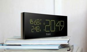 Prisma chrome clock