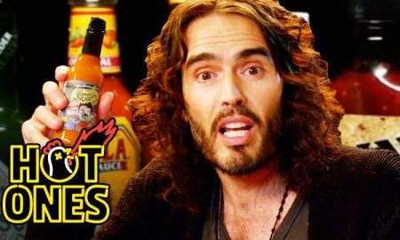 Russell Brand Hot Ones