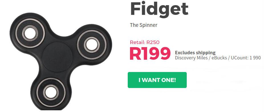 Fidget OneDayOnly