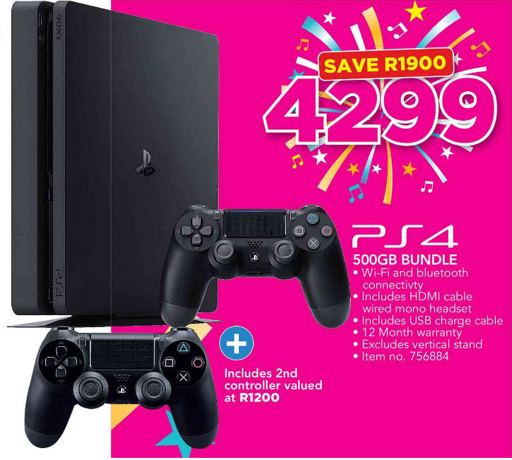 PS4 console deal from Game