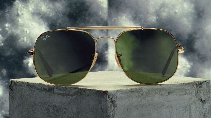 4d218c0111 Rayban General. Nothing screams cool quite like a pair of classic Aviator  sunglasses.