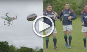British and Irish Lions drone challenge