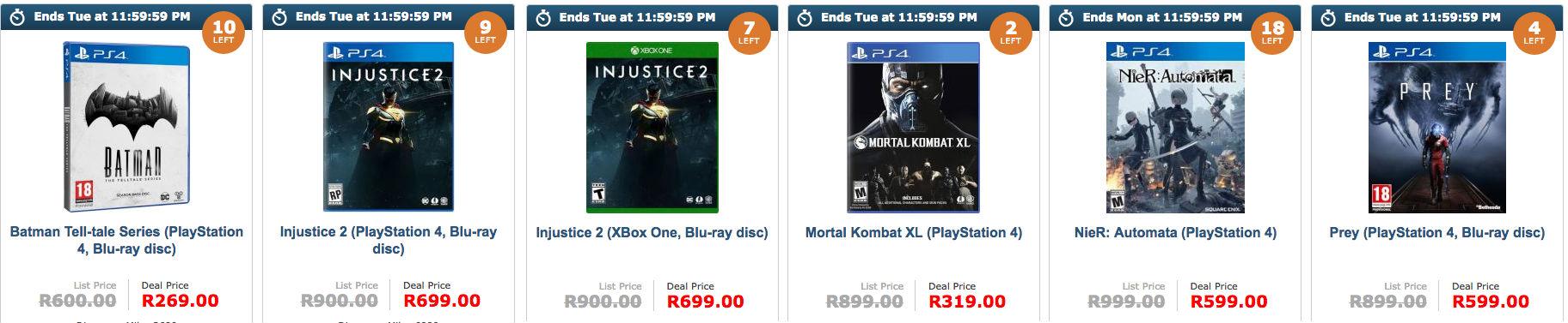 Gaming specials Loot Hot Deals