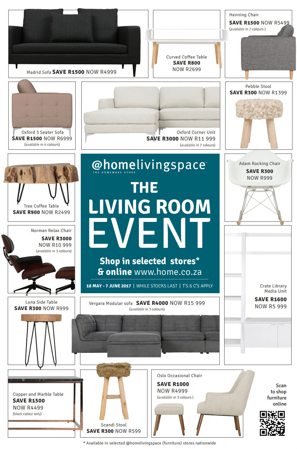 Living Room Event specials