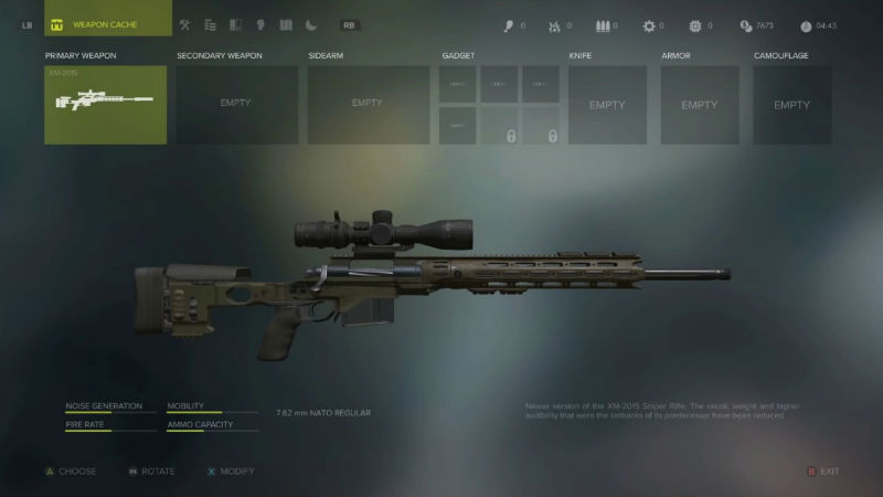 Sniper Ghost Warrior 3 gun