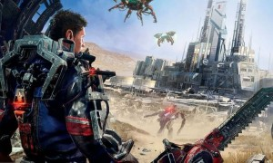The Surge game header