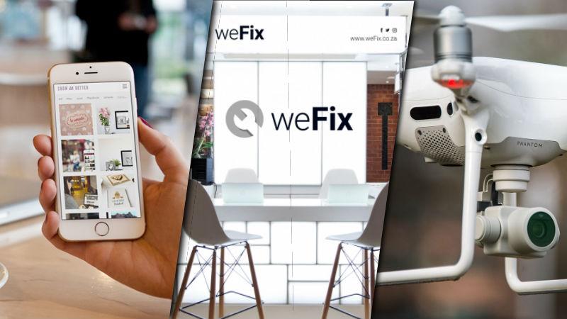 weFix header