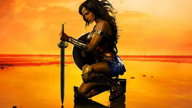 Wonder Woman movie header