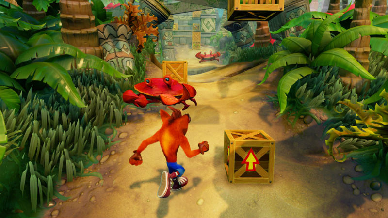 Crash Bandicoot Nsane Trilogy HD