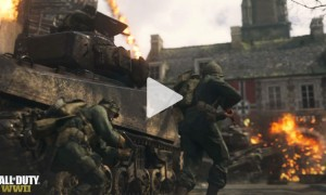 COD WWII multiplayer video