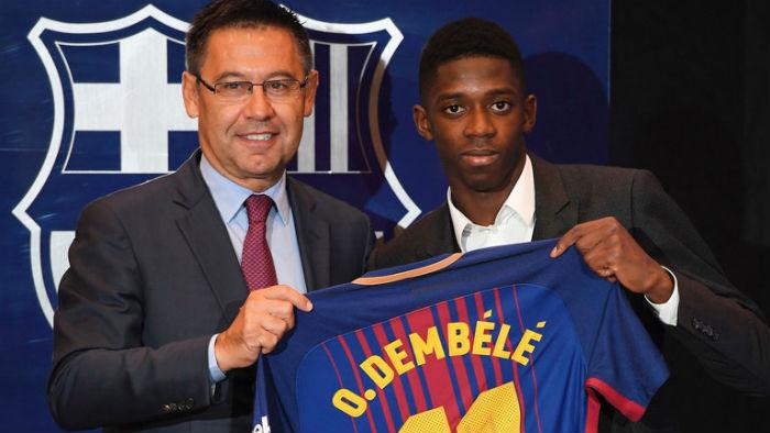 Dembele Barcelona