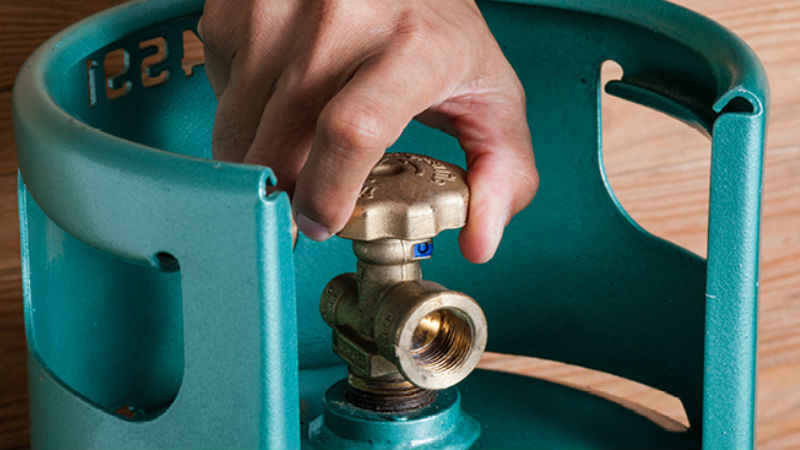 Gas Cylinder header