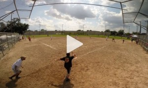 Kickball kick fail