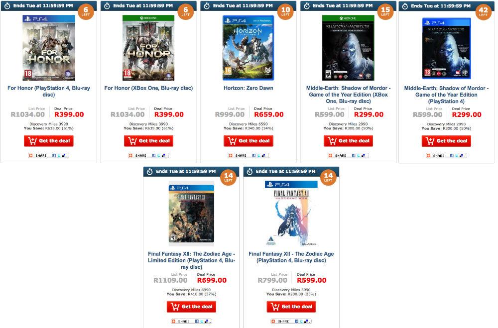 Loot gaming deals