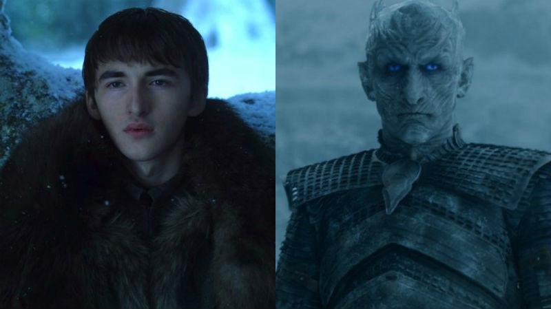 The Night King Bran face