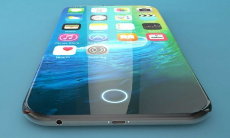 iPhone 8 concept impression