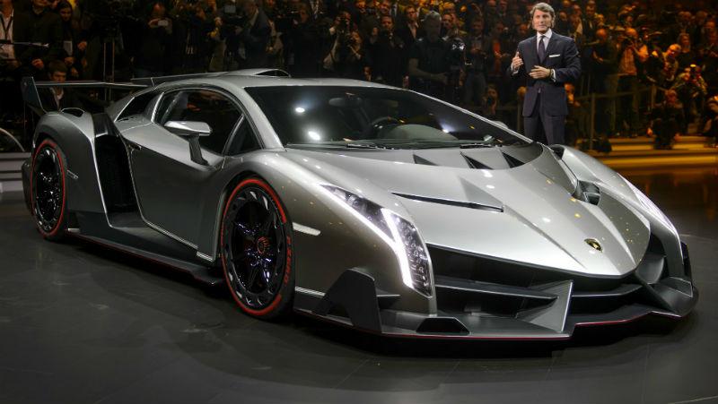 Lamborghini Veneno Roadster 8