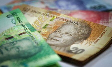 South African rands