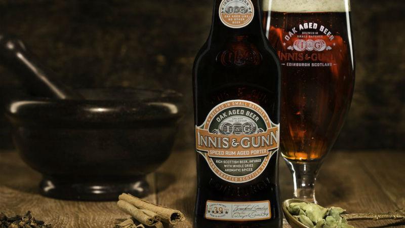Innis Gunn Spiced Rum Porter