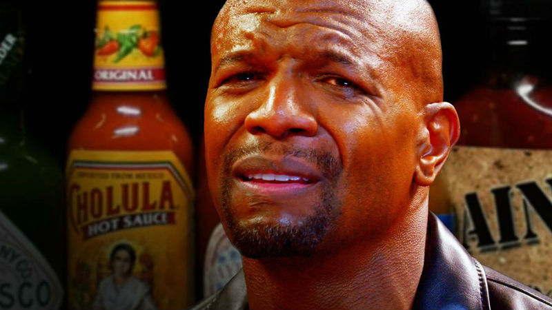 Terry Crews Hot Ones