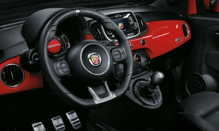 Fiat Abarth 595 interior