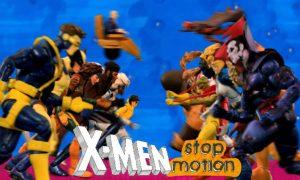 Xmen stop motion