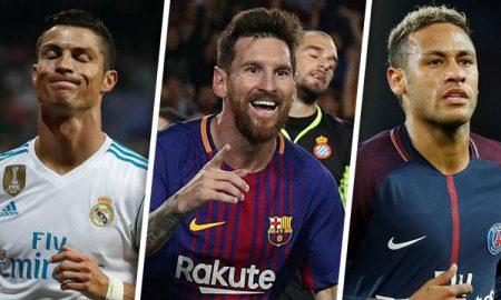 Ronaldo Neymar Messi