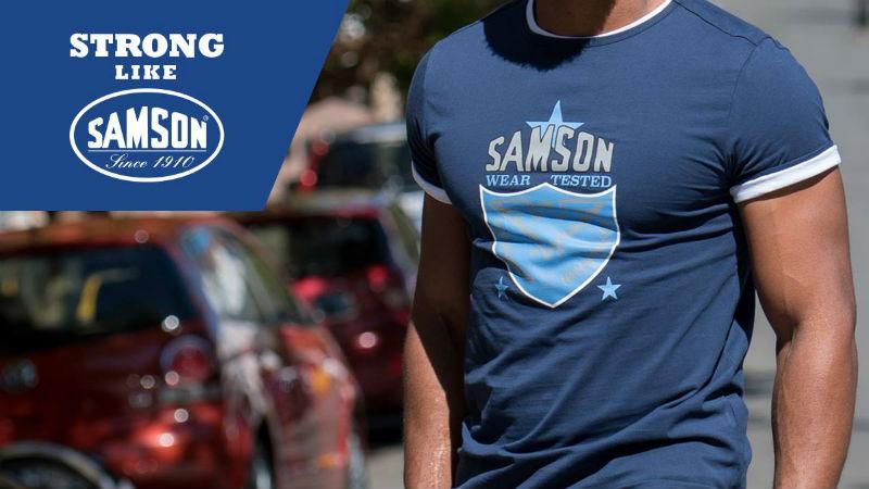 Samson tee header