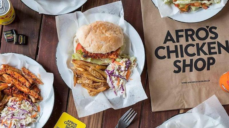 Afros Chicken Shop header