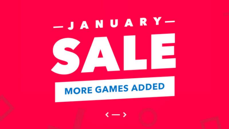 Jan PSN Sale