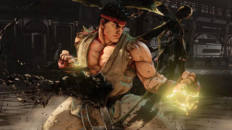 Street Fighter V Arcade header