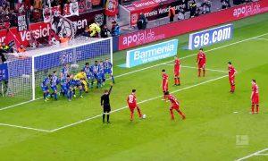 Bundesliga free kick