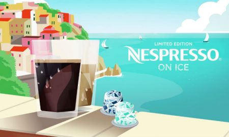 Nespresso on ice header