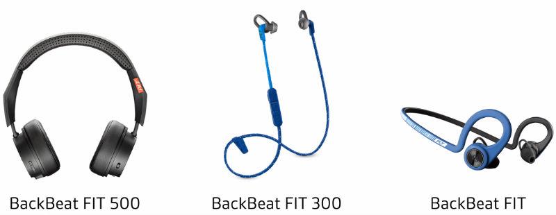 BackBeat Plantronics range