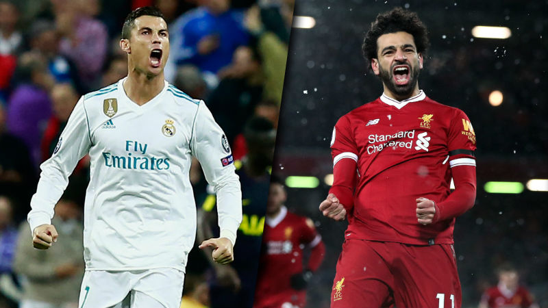 Mo Salah Ronaldo