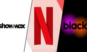 Netflix Showmax Black