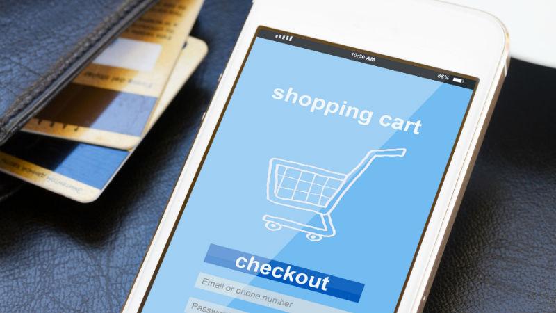 Online Shopping header