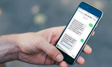 SMS smartphone