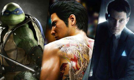Game reviews Injustice 2 Yakuza 6 Detroit BEcome Human