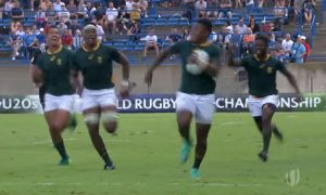 Springboks All Blacks Under 20