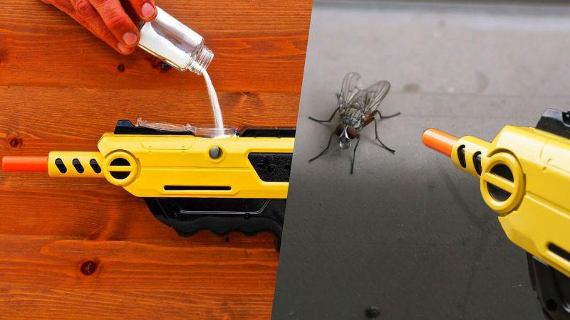 Bug a Salt Salt Shotgun for flies