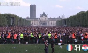 France Paris reaction World Cup