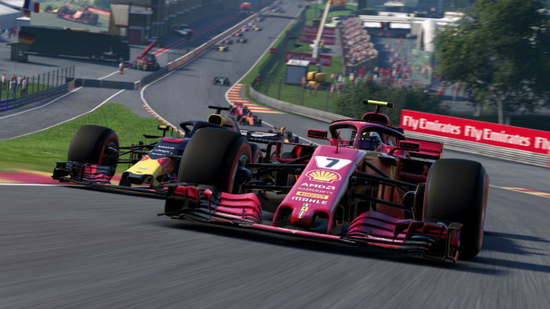 F1 2018 review header