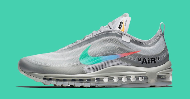 hot sale online 0911f c5fe2 Nike x Off-White Air Max 97 'Menta' Release & Pricing ...